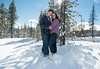Snowy Winter Engagement :